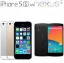 iPhone 5S VS Google Nexus 5